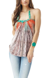 Sky Alette Necklace Top - Front cropped