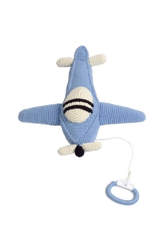 anne-claire petit Sky-Blue Airplane Music-Box - Product List Image