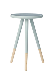 Bloomingville Sky Blue & Natural Wood Table - Product Mini Image