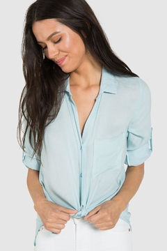 Bella Dahl Sky Button Shirt - Alternate List Image