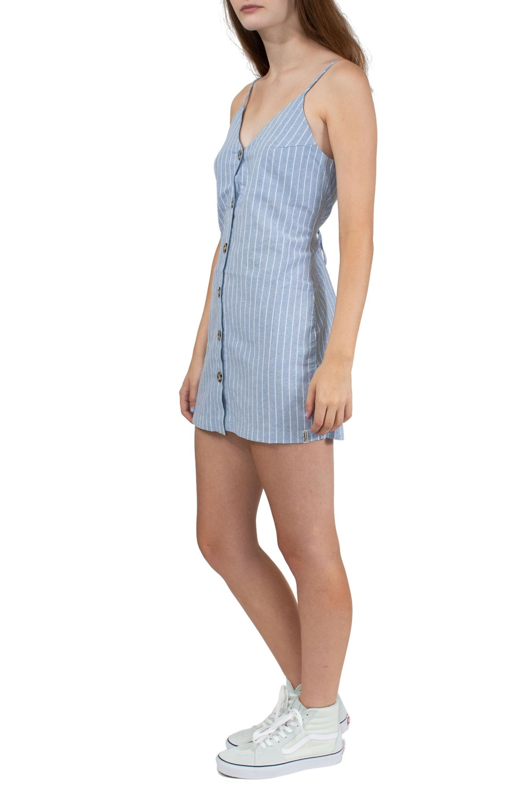 Rhythm  Sky Castaway Dress - Front Full Image
