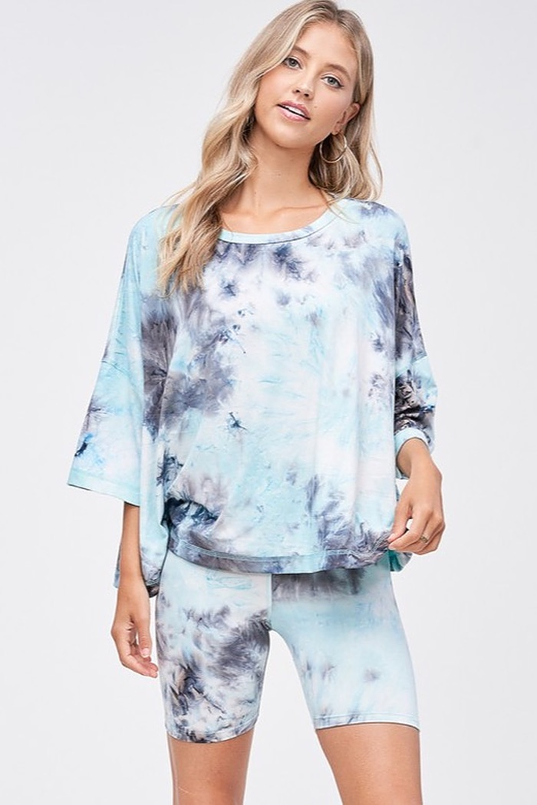 CRIV Sky High Tie Dye Top - Main Image