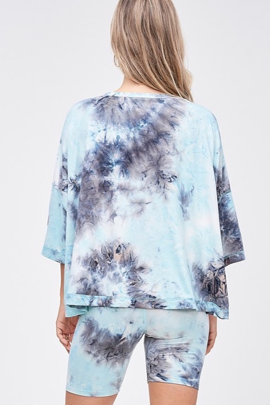 CRIV Sky High Tie Dye Top - Side Cropped Image