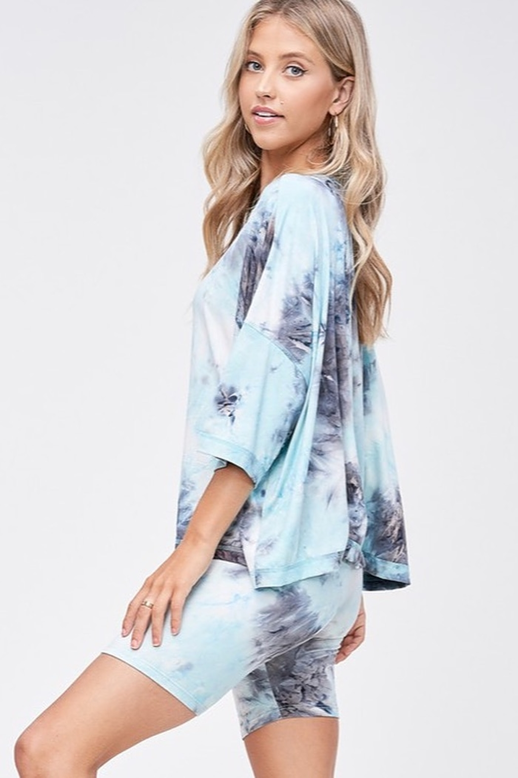 CRIV Sky High Tie Dye Top - Front Full Image