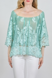 Sky Intricate Lace Top - Product Mini Image