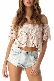 Sky Lace Crop Top - Product Mini Image