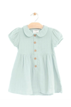 Shoptiques Product: Sky Muslin Button Dress