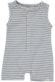 Me & Henry Sky Romper - Side cropped