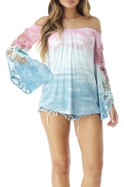Sky Tie Dye Top - Product Mini Image