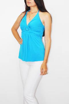 Sky Turquoise Tunic Top - Product List Image
