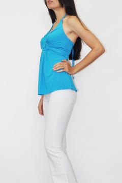 Shoptiques Product: Turquoise Tunic Top