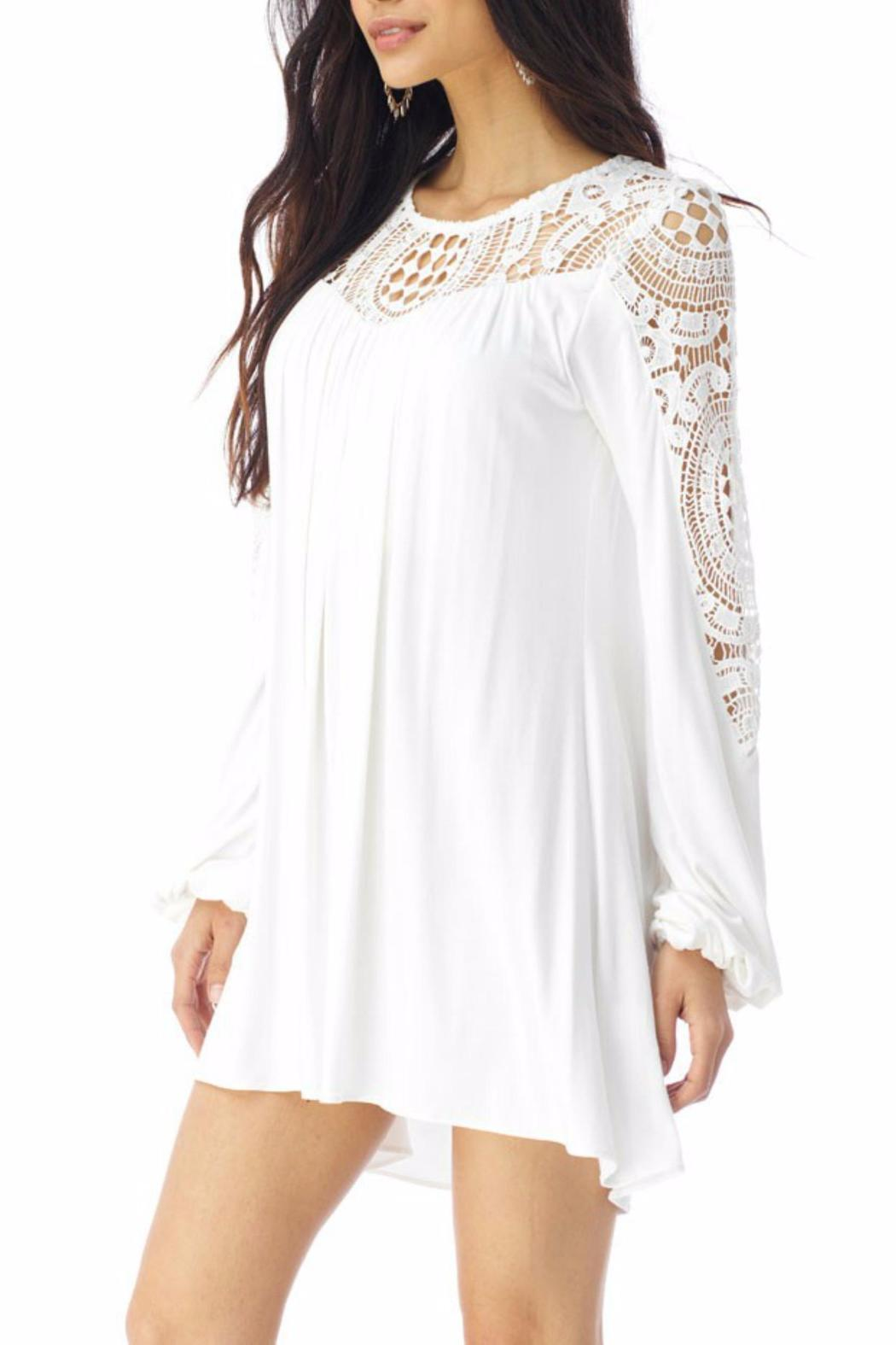 Sky Collection Gridee Mini Dress - Front Full Image