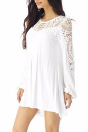 Sky Collection Gridee Mini Dress - Front full body