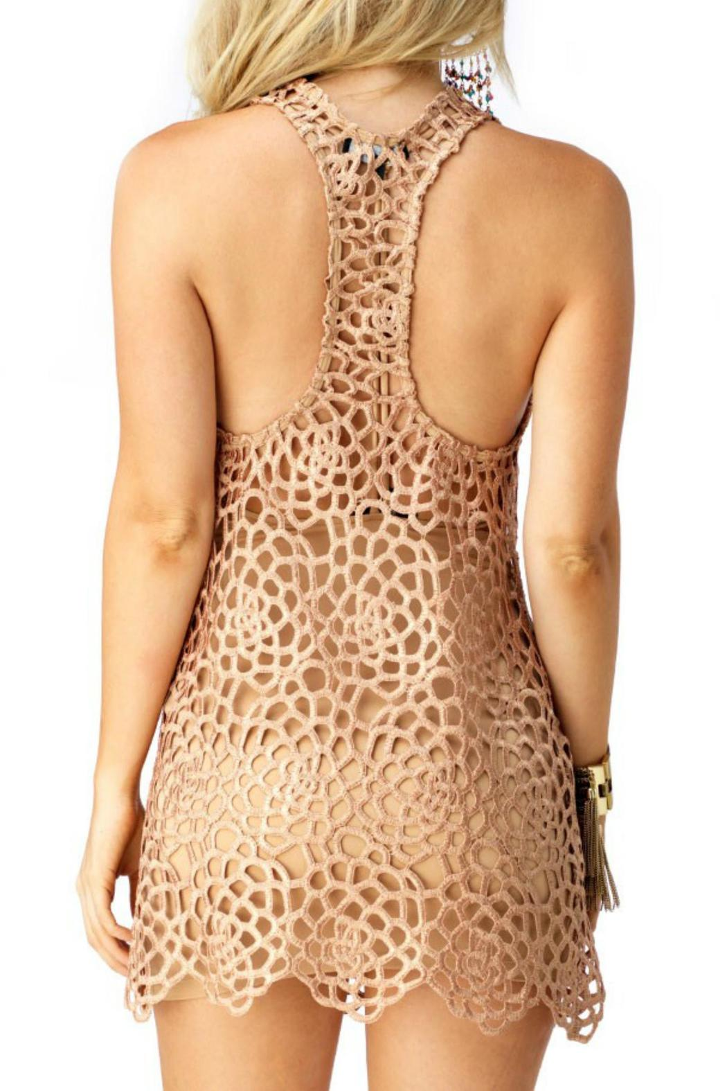 Sky Collection Ioannia Mini Dress - Back Cropped Image