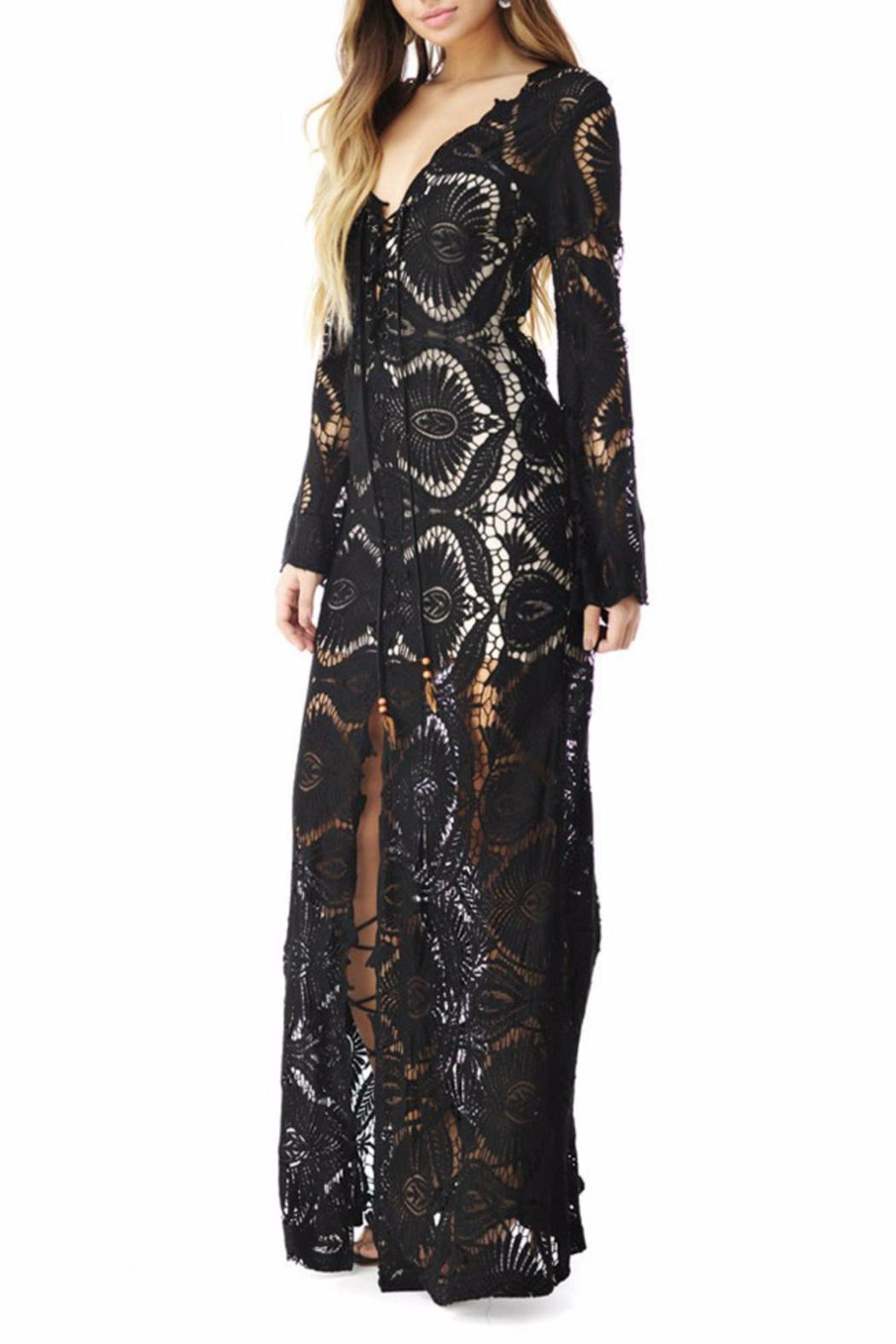 Sky Collection Takeshi Maxi Dress - Front Full Image