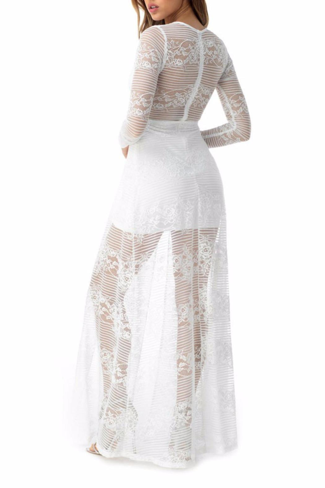 Sky Collection Trovald Maxi Dress - Side Cropped Image