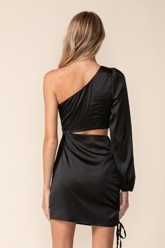 sky to moon One-Shoulder Cut-Out Dress - Alternate List Image
