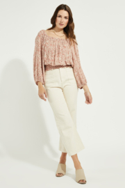Gentle Fawn Skye Off Shoulder Smocked Blouse - Product Mini Image