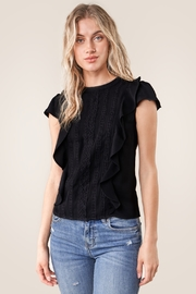 Sugarlips Skyla Lace Top - Front cropped