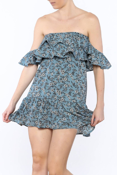 Shoptiques Product: Blue Floral Dress