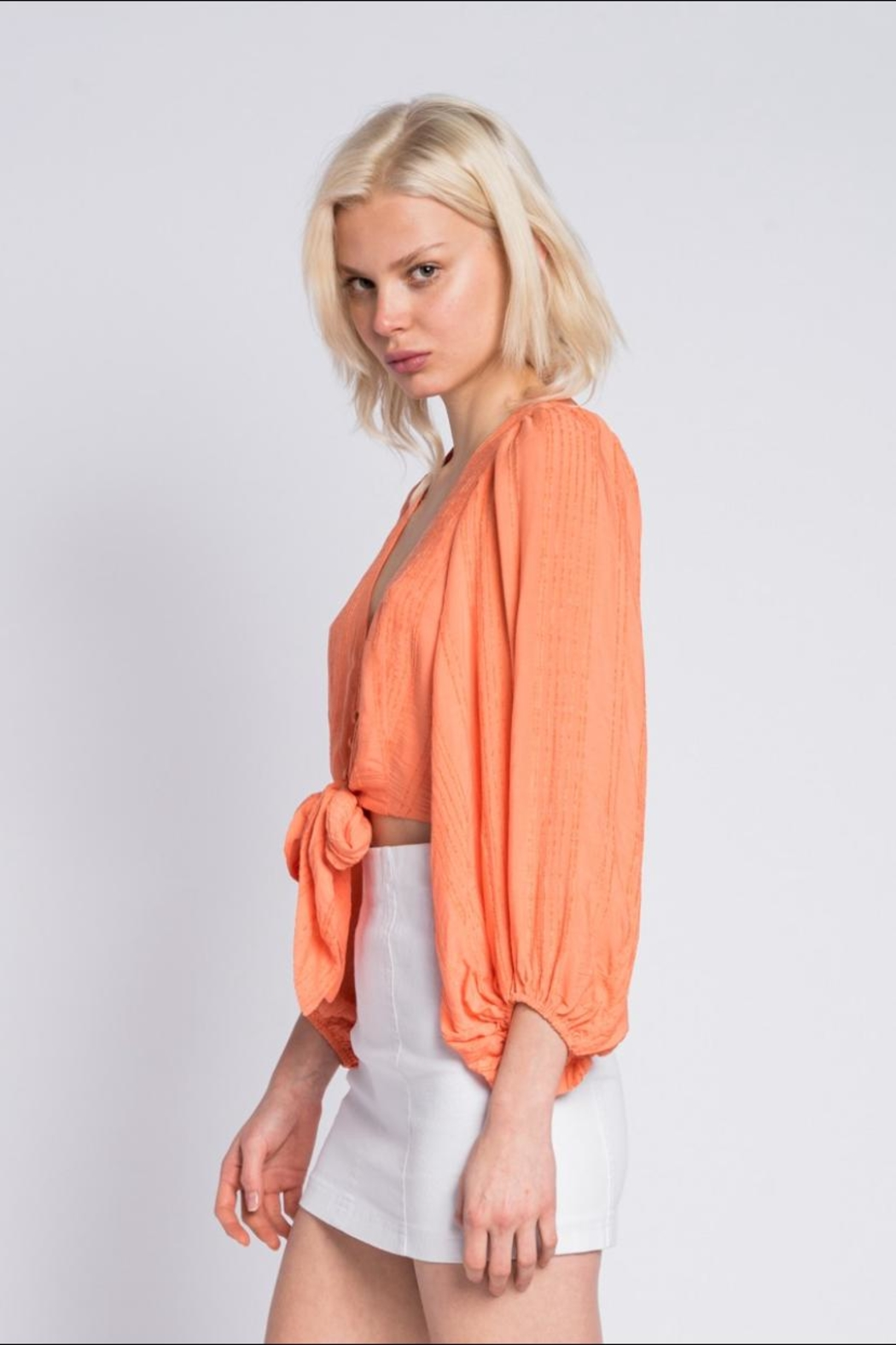 Skylar & Madison Button Down Top - Side Cropped Image