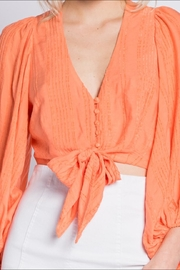 Skylar & Madison Button Down Top - Front full body