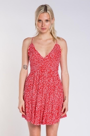Skylar & Madison Heart Print Dress - Front cropped
