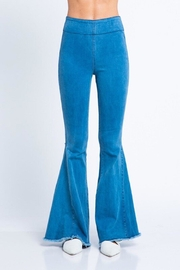skylar madison Afterlight Denim Flare Jeans - Product Mini Image