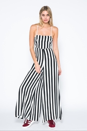 skylar madison Black Stripe Jumpsuit - Product Mini Image