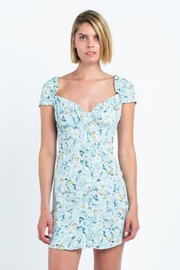 skylar madison Floral Button-Down Mini-Dress - Product Mini Image