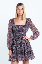 skylar madison Floral Mini Dress - Front cropped
