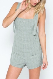 skylar madison Green Overall - Front cropped