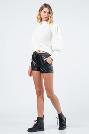 skylar madison Knitted Long-Sleeve Sweater - Front full body
