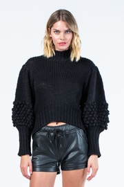 skylar madison Knitted Long-Sleeve Sweater - Front cropped