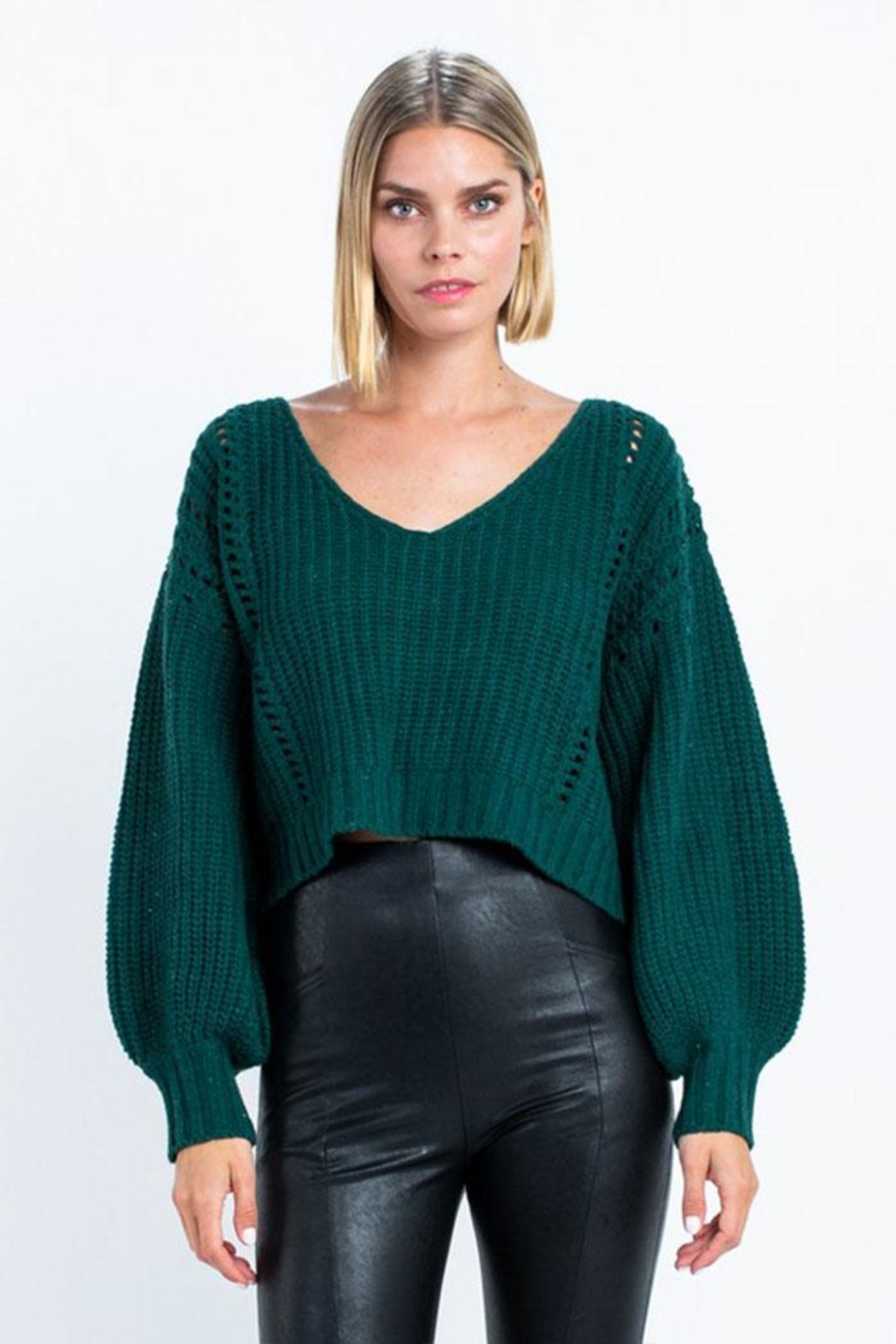 skylar madison Long Sleeve Sweater - Main Image