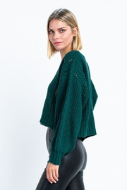 skylar madison Long Sleeve Sweater - Side cropped