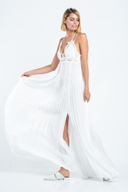 skylar madison Pleated Maxi Dress - Side cropped