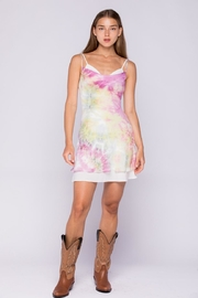 skylar madison Rainbow Tie-Dye Dress - Product Mini Image