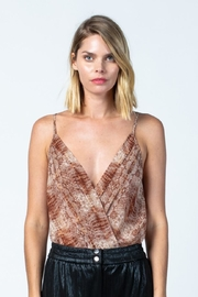 skylar madison Snake Print Bodysuit - Front full body