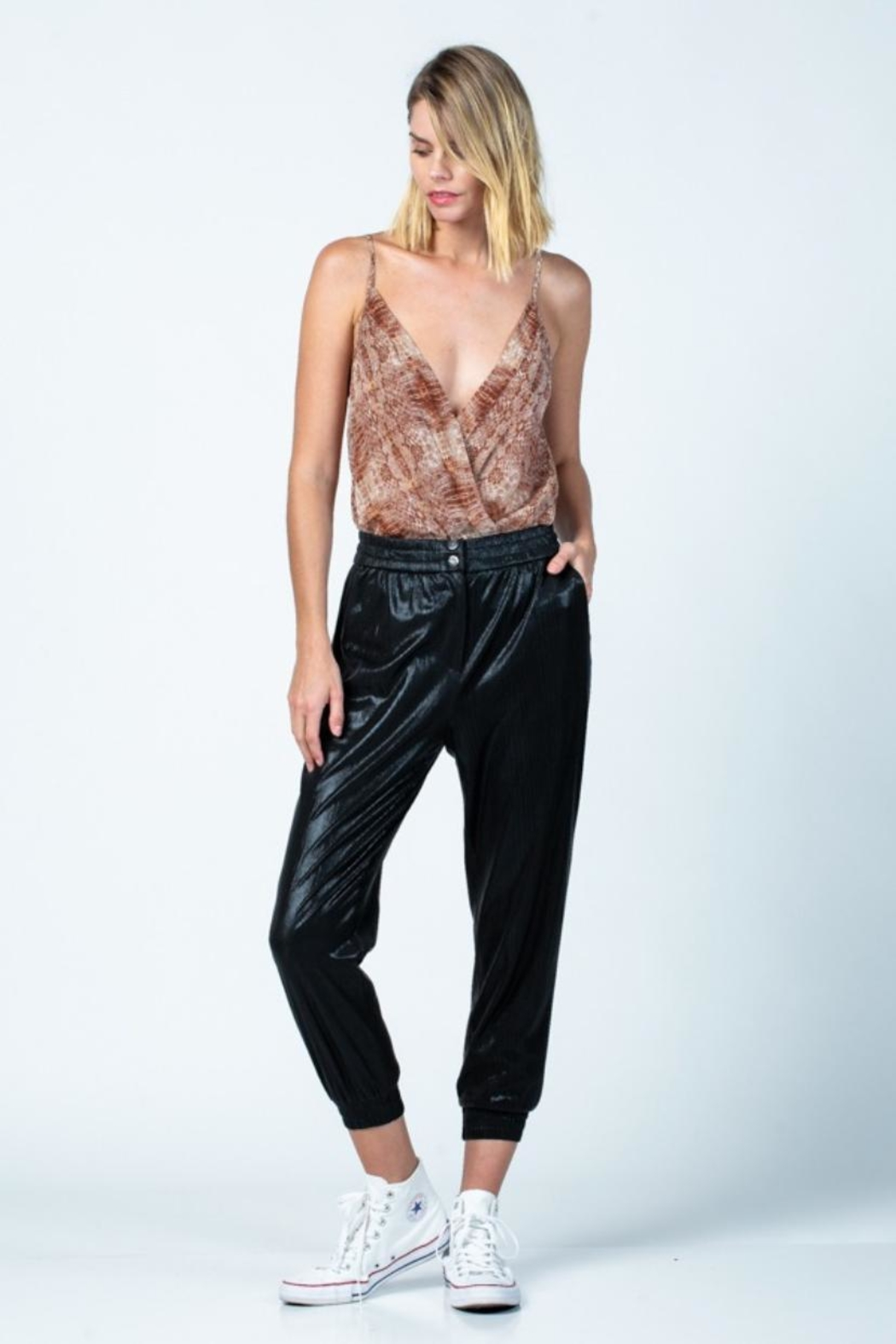 skylar madison Snake Print Bodysuit - Main Image