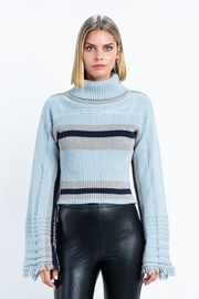 skylar madison Stripe Turtle-Neck Sweater - Product Mini Image