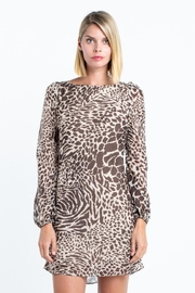 skylar madison Tiger Print Mini-Dress - Product Mini Image