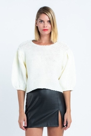 skylar madison Waffle Knit Sweater - Product Mini Image