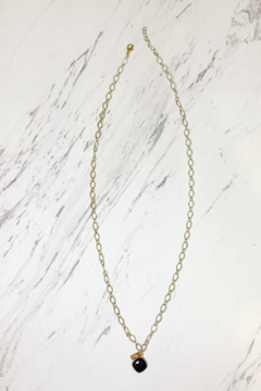 Midori Linea Skylights Long Chain Necklace w Stone - Product List Image