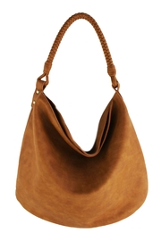 Street Level SL Hobo Bag w/ Braided Handle - Front cropped