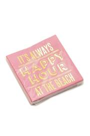 Slant Happy Hour Napkins - Product Mini Image