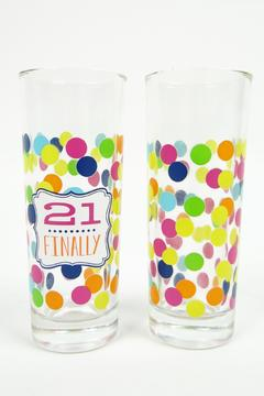 Slant Collections Birthday Shot Glasses - Alternate List Image