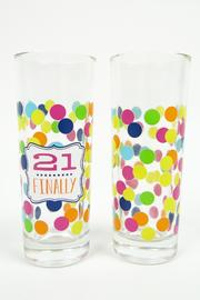 Slant Collections Birthday Shot Glasses - Product Mini Image
