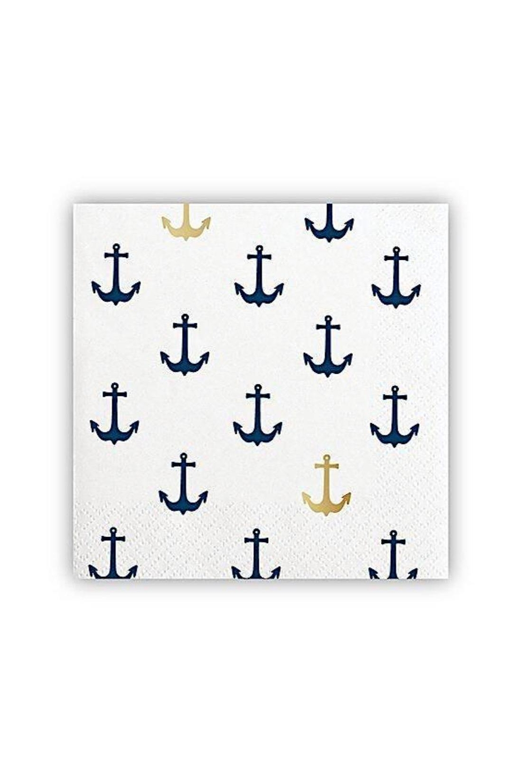 Slant Collections Anchor Cocktail Napkins - Main Image