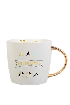 Slant Collections Be Brave Mug - Alternate List Image